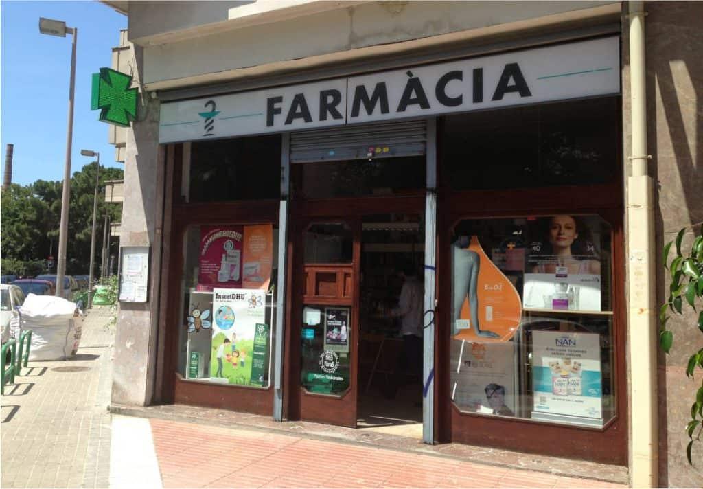 reforma de una farmacia
