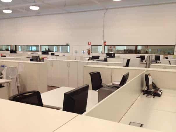 Proyecto de oficinas en nave industrial 2