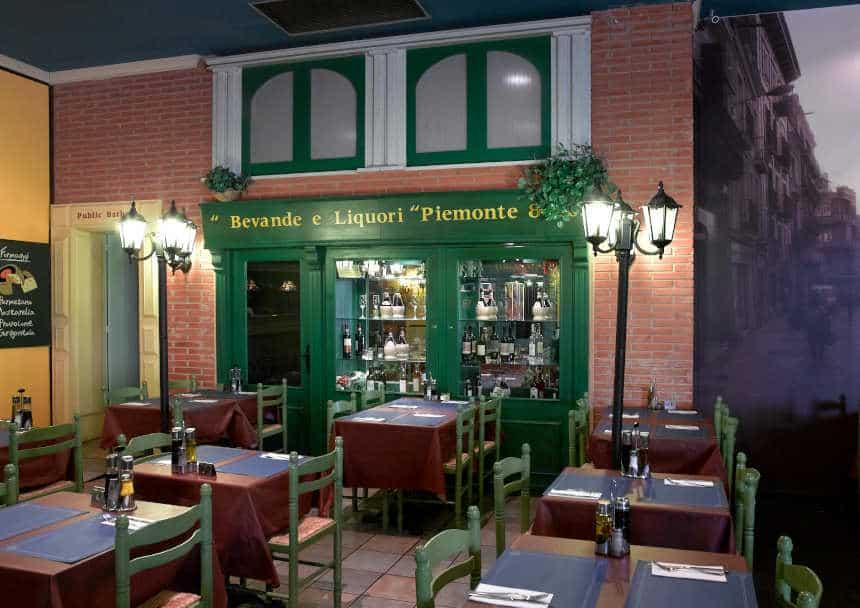 Reforma de restaurante italiano