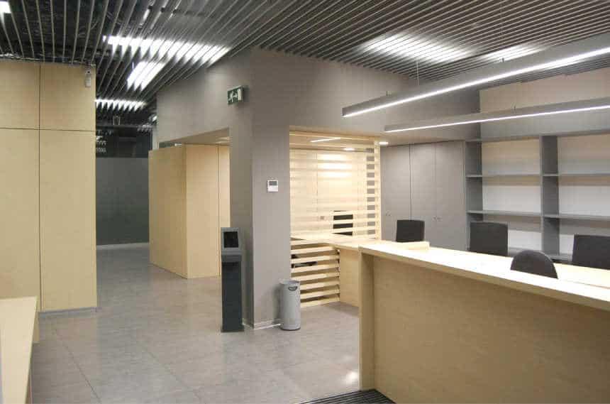 Reforma oficina de servicios sociales