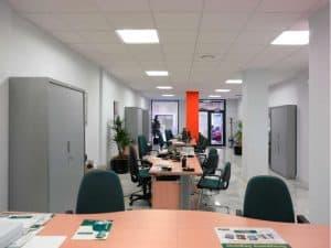 Reforma de oficina en local comercial