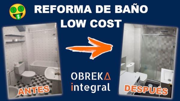 reforma de baño barata