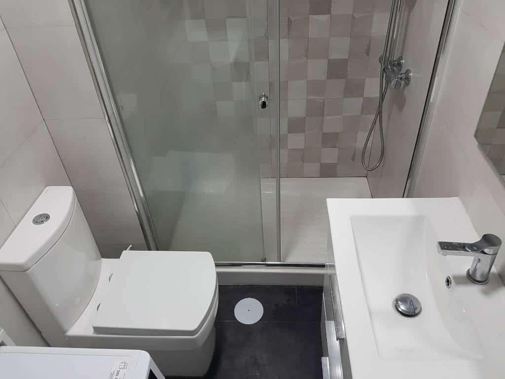 reforma de baño pequeño